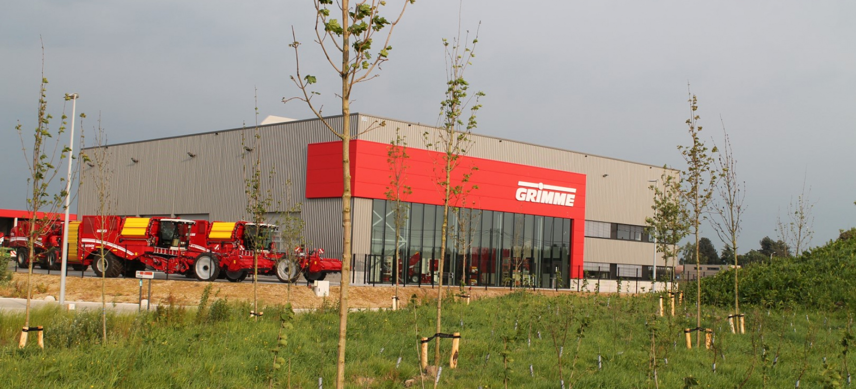 GRIMME Belgium: GRIMME opens new location - News -