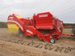 Automatic web speed control for the single row bunker harvester SE 75-55: