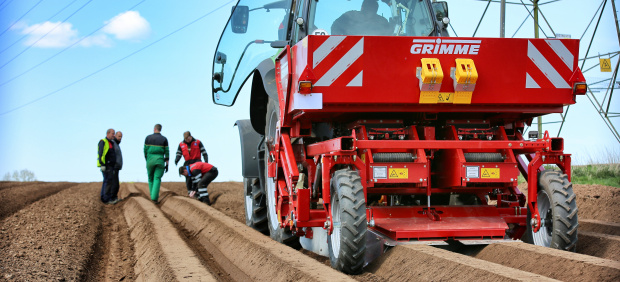 Grimme UK is helping to develop NEW talent : with Brooksby Melton College
